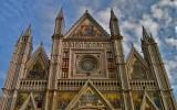 Duomo, facciata. Orvieto (TR), Dicembre 2007