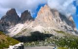Passo Sella. Trentino, Agosto 2002