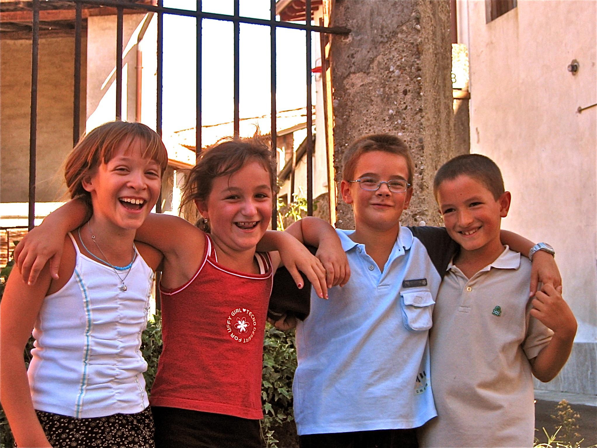 La banda. Mozzanica (BG), Agosto 2003