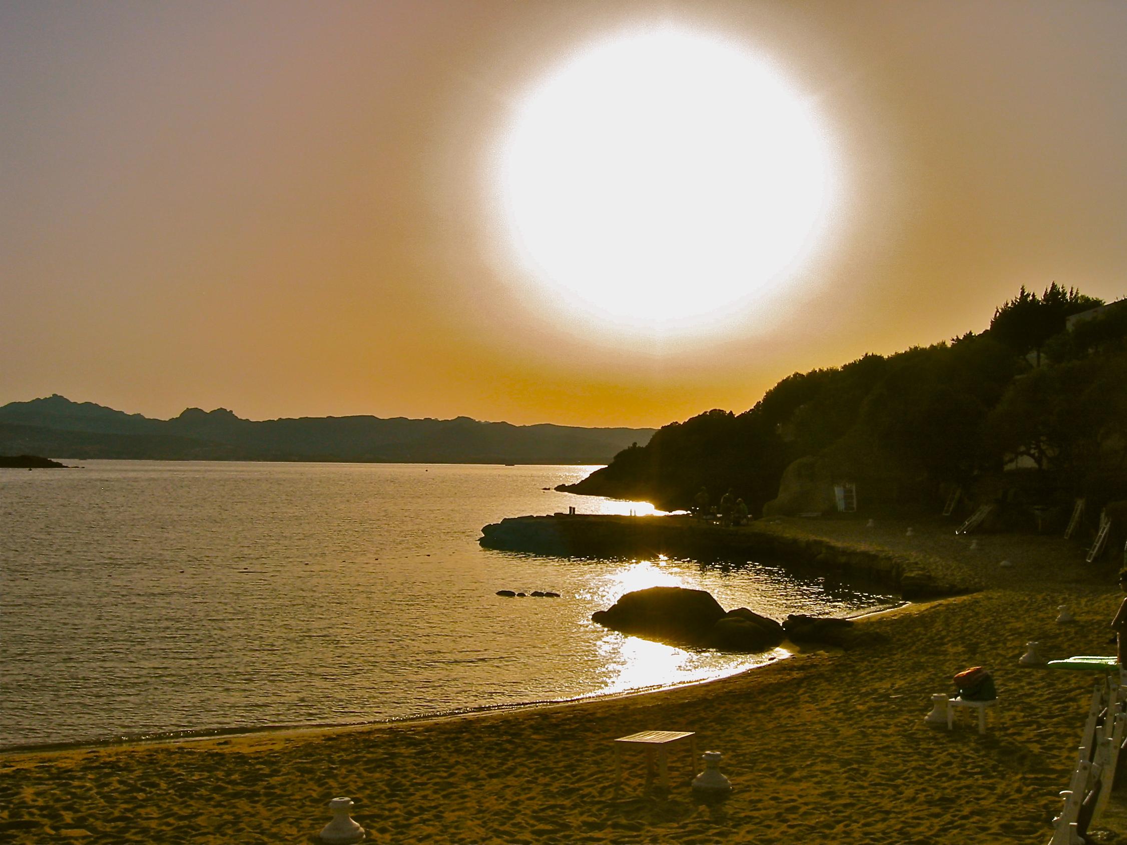Spiaggia d'oro. Arzachena (OT), Luglio 2007