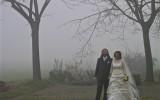 Sposi nella nebbia. Arluno (MI), Dicembre 2007