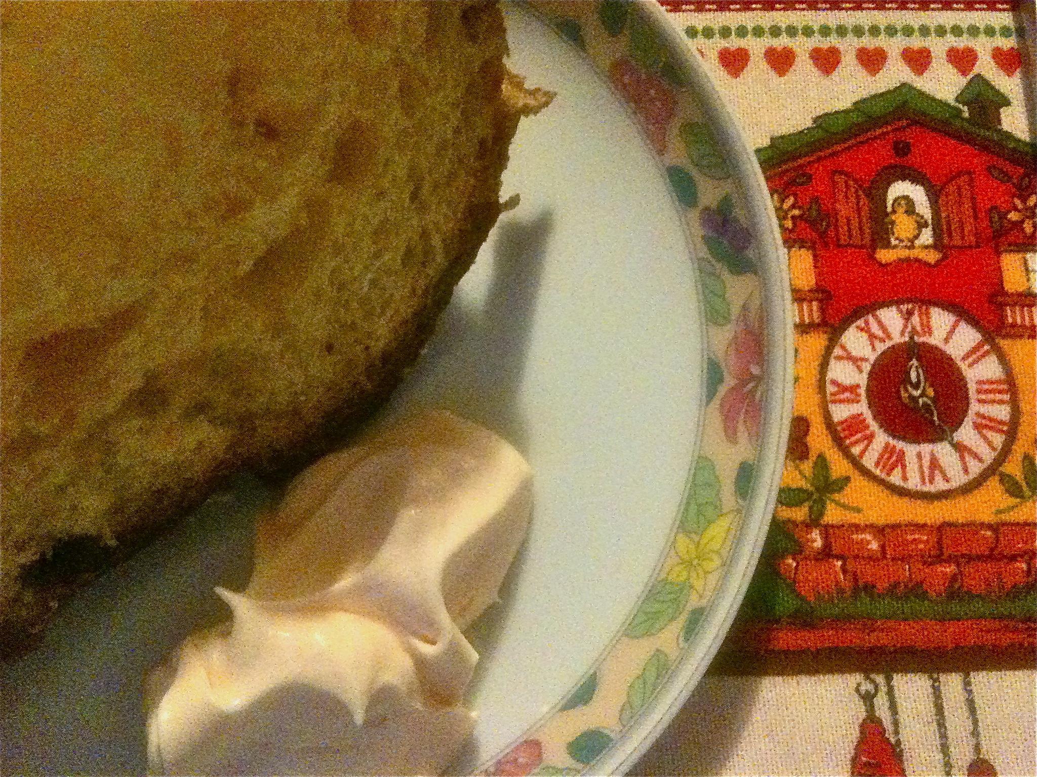 Crema al Maraschino e panettone. Parabiago (MI), Dicembre 2011