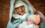 Madonna con Bambino. Mozzanica (BG), gennaio 2014